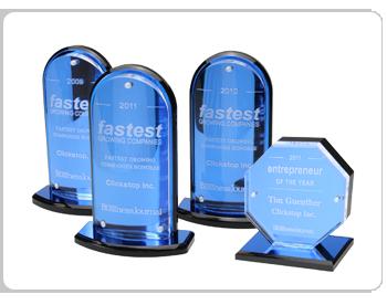 Clickstop Awards 2009-2011