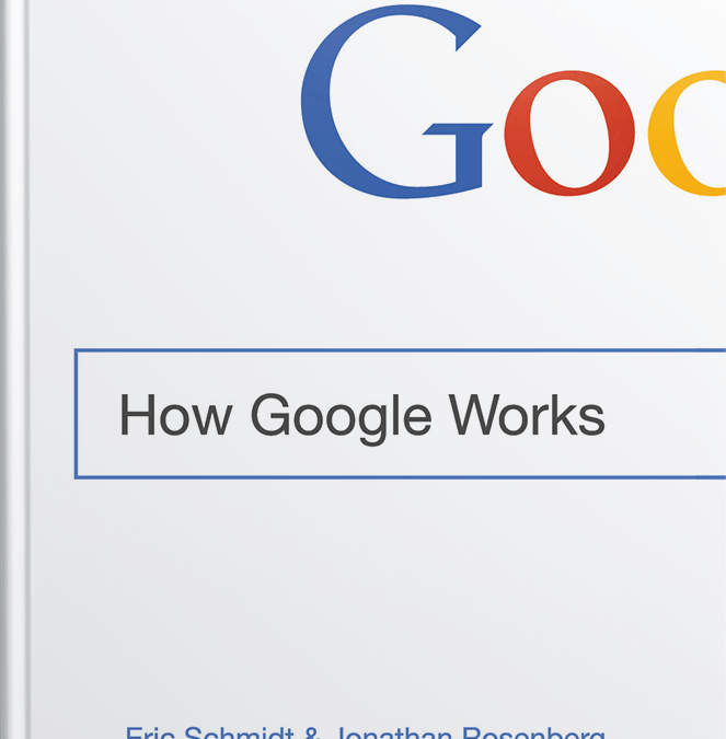 How Google Works – A Clickstop Book Club Read