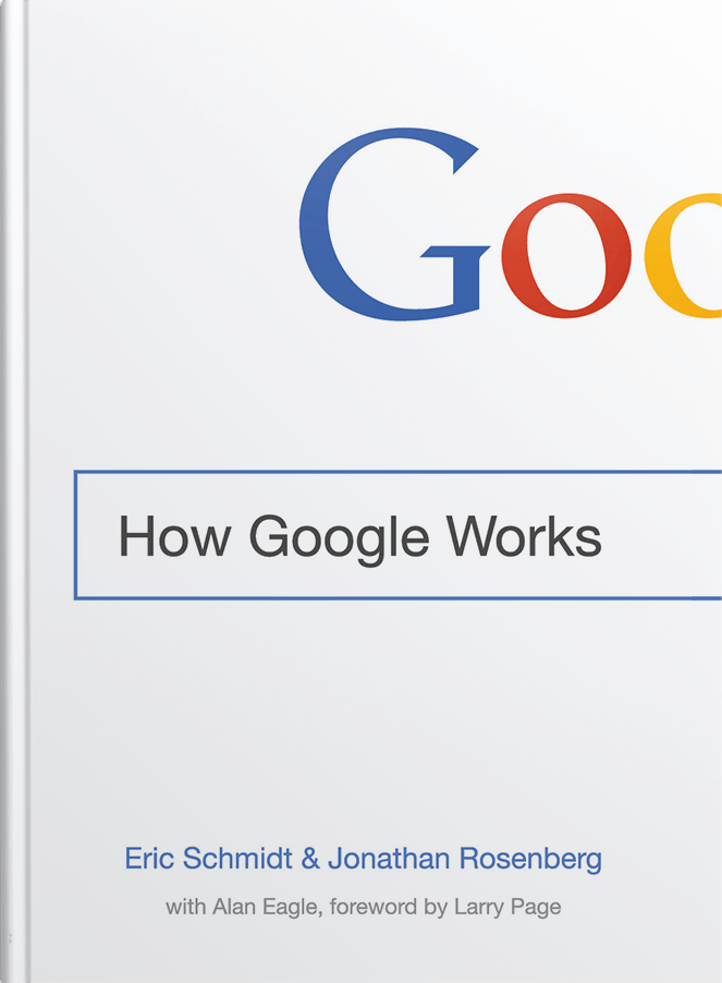 How Google Works – A Clickstop Book Club Read