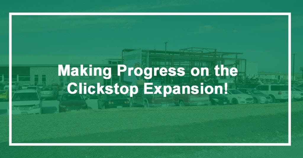 Clickstop Expansion Update