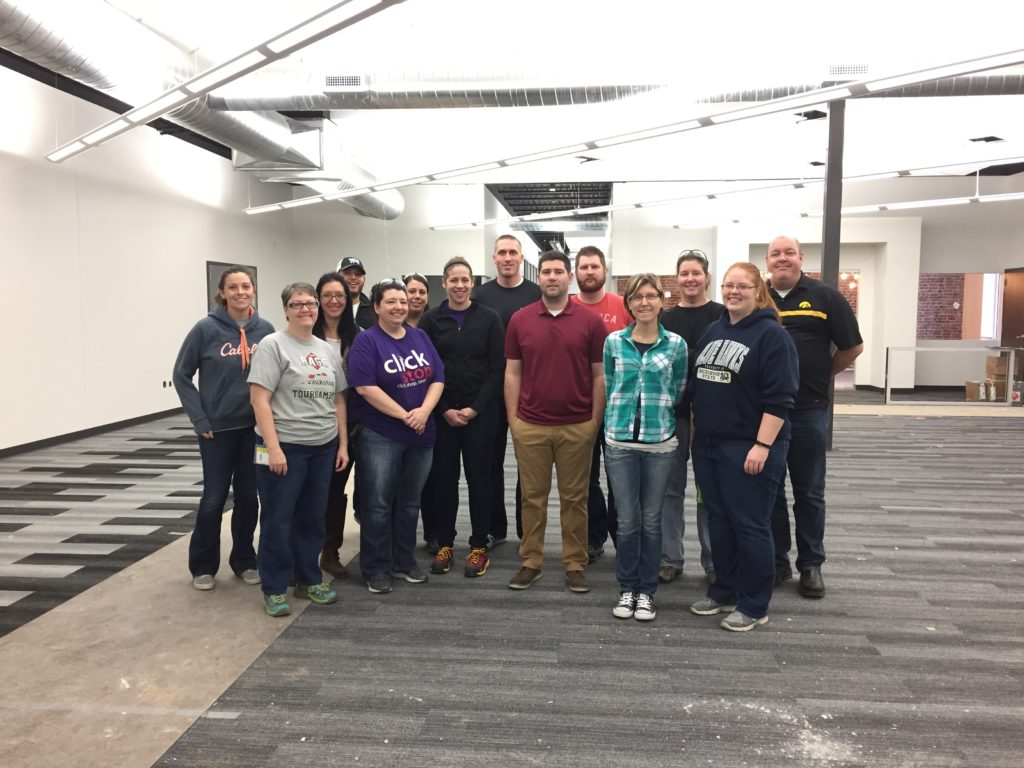 Group Tours of Clickstop Building Expansion
