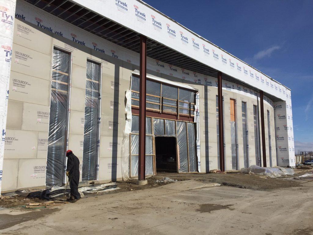Clickstop Building Expansion Exterior