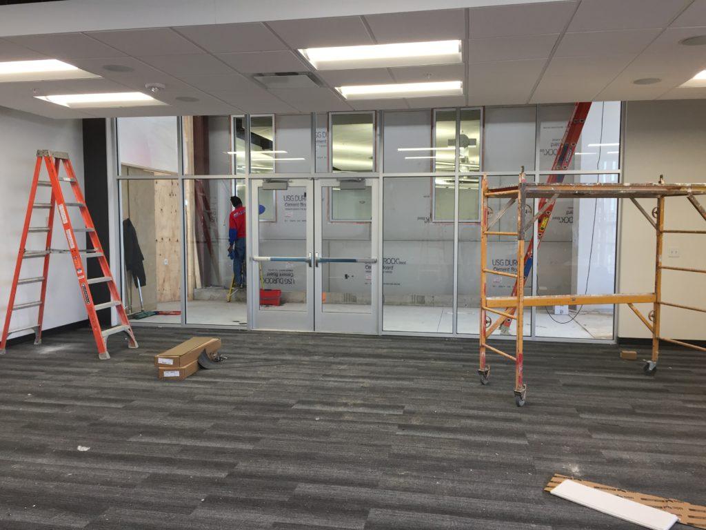 Clickstop Training Room Construction