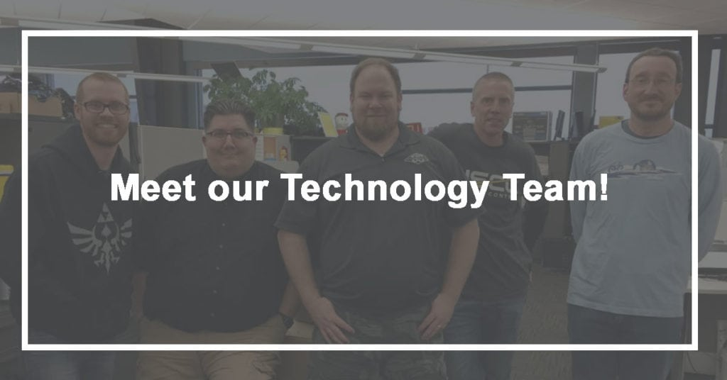Meet our Technology Team!