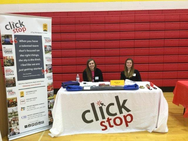 Clickstop at Planning for Your Future Career Day