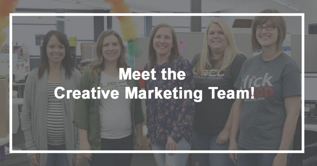 Meet the Creative Marketing team!