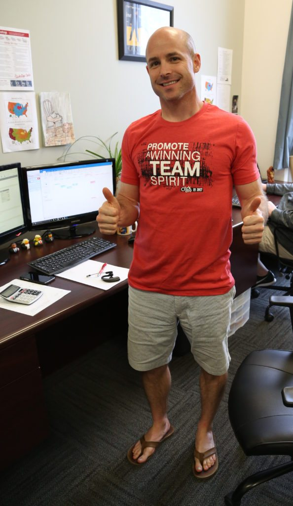 Core Value - Promote a Winning Team Spirit - Award Winner Sean Waters