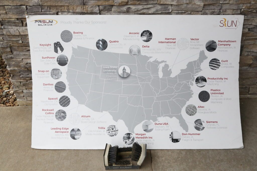 Solar Car Map