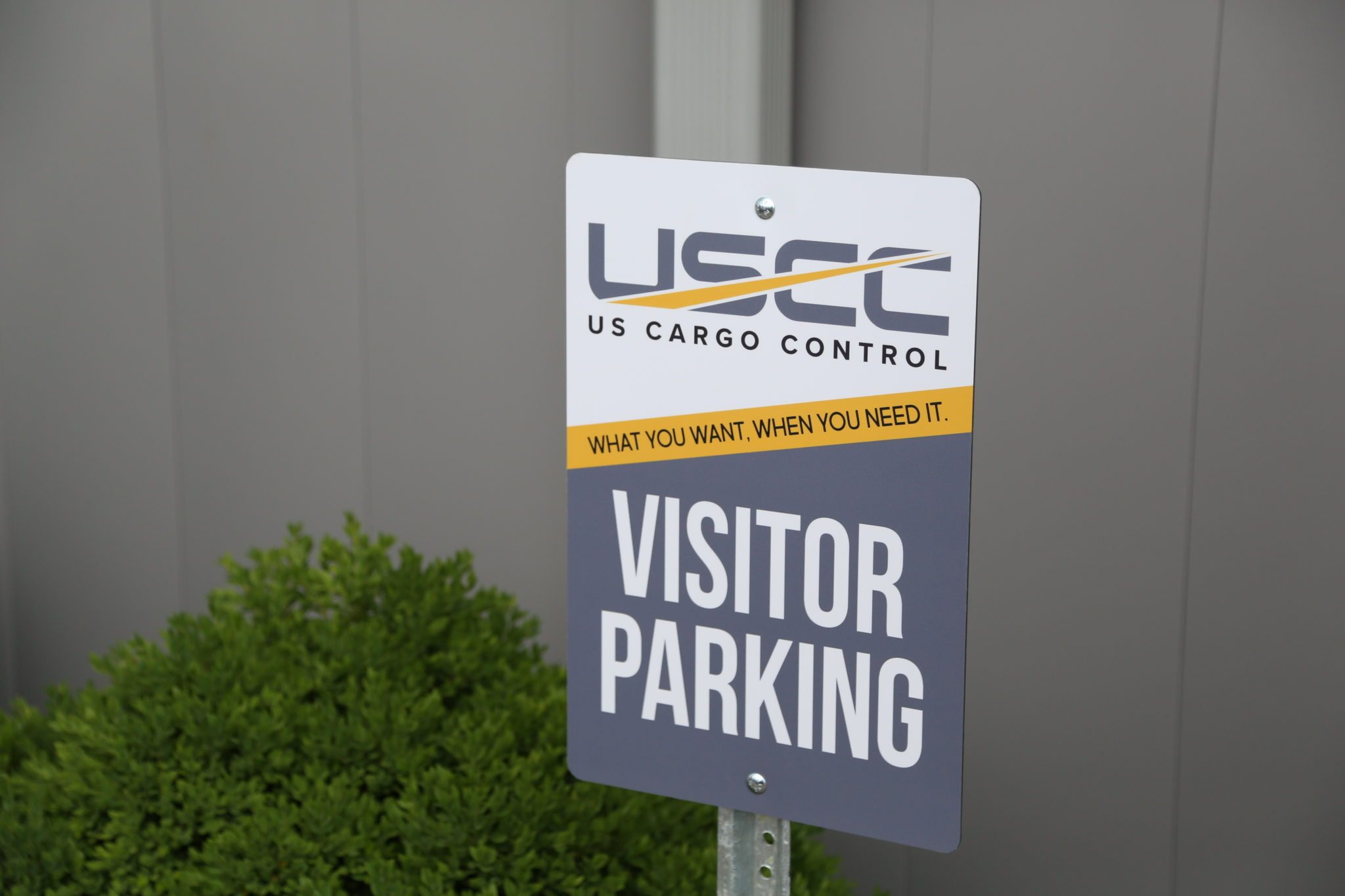 US Cargo Control Visitor Parking
