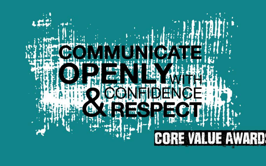 Q2 Communicate Openly Award Winner Announced!