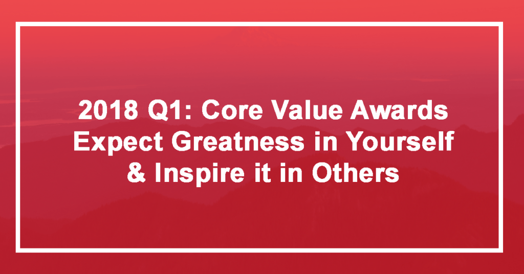 Expect Greatness in Yourself and Inspire it in Others: Q1 Winner Megan Dudley