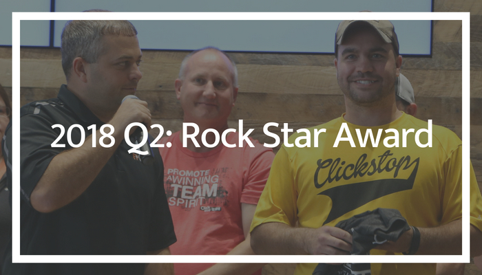 2018 Q2: Rock Star Award
