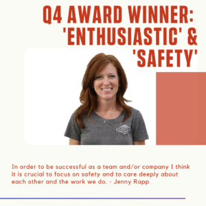Jenny R - Enthusiastic & Safety