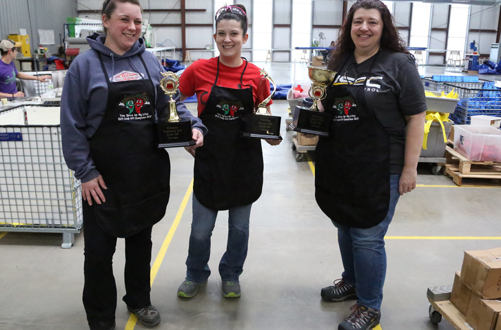 Clickstop's Chili Cook Off was a hit!