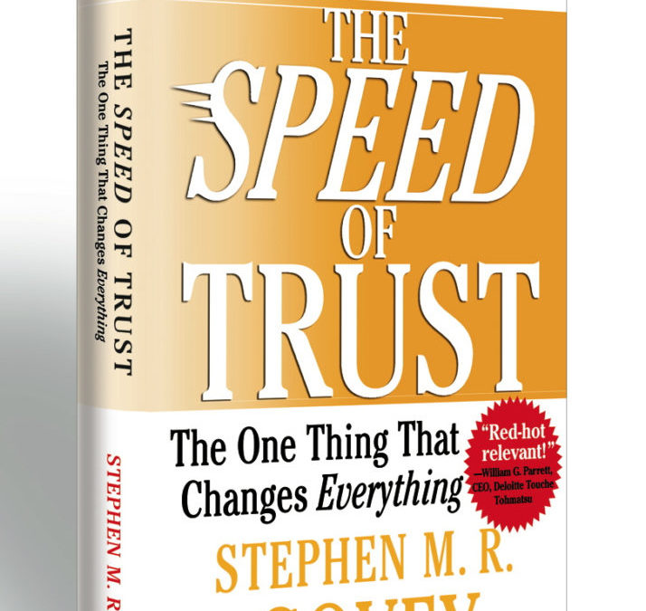 The Clickstop Book Club – The Speed of Trust